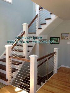 Cầu thang dây cáp – không gian sống mới lạ độc đáo