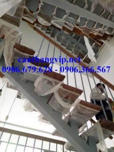 Thang sắt xương cá 6 tầng tại phố Thanh Bình – Hà Đông – Hà Nội